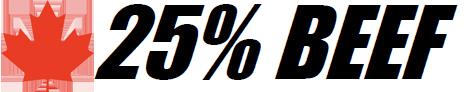 25% BEEF™ CNDN
